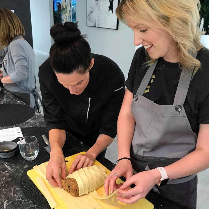 Ayarah vegan cooking class