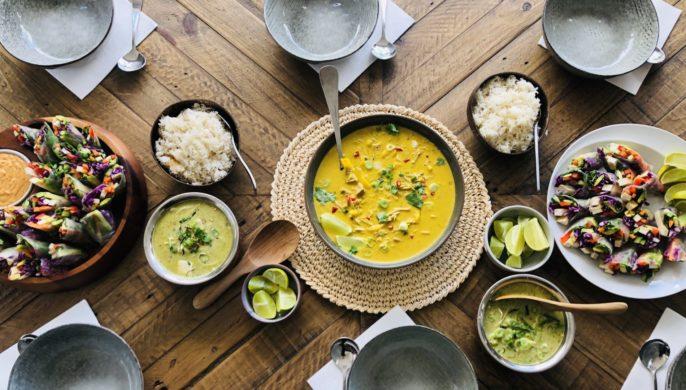 Ayarah Vegan cooking class Thai Fusion