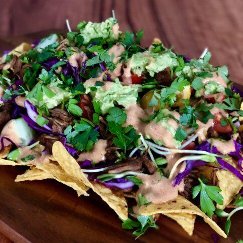Mexican, Cooking class, Jackfruit nachos